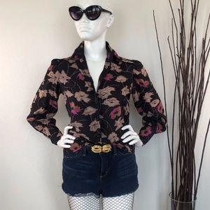 Cacharel | Vintage Floral Blouse